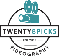 Twenty8picks Videography Logo